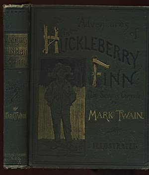 ADVENTURES OF HUCKLEBERRY FINN. (TOM SAWYER'S COMRADE).: TWAIN, Mark [CLEMENS,