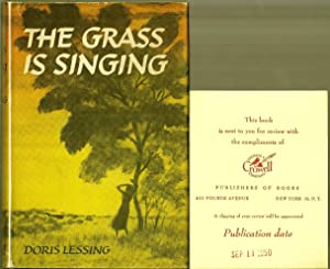 an analysis of the grass is singing by doris lessing Doris lessing's novel is a remarkable piece of work the grass is singing is mercilessly penetrating and casts a spell all its won at times, too.