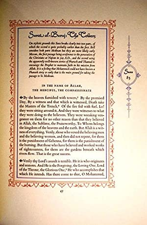 THE KORAN: SELECTED SURAS