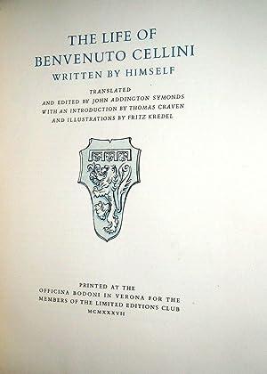 THE LIFE OF BENVENUTO CELLINI WRITTEN BY: CELLINI, Benvenuto