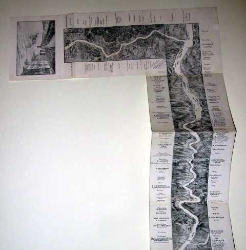 AuBergewohnlich Lithographie Von Drei Platten, Um 1830, 129,5 X 17,5 Cm; Kopfteil 48 X 15,5  Cm Seltenes ...