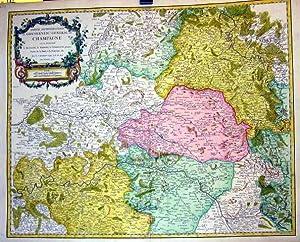 Partie septentrionale du Gouvernement General de Champagne.: FRANKREICH: Champagne-Ardenne: