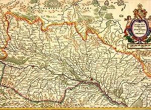 Alsatia Landgrauiatus cum Suntgoia et Brisgoia.: FRANKREICH: Elsaß: