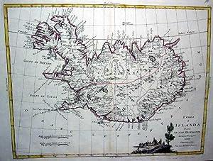 L'Isola d'Islanda.: SKANDINAVIEN: Island: