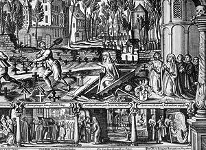 """St. Aposteln """" Abbildung der alten Wunderbaren und doch warhafften Geschicht, So sich vor ..."""