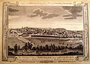 The celebrated City of Jerusalem.: AFRIKA: Israel: