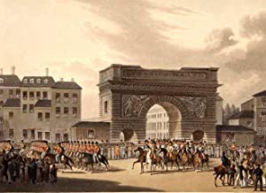 Grand Entry of the Allied Sovereigns into Paris on the 31. March, 1814.: FRANKREICH: Paris: