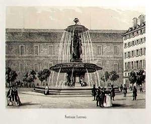Fontaine Louvois.: FRANKREICH: Paris: