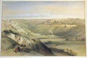 Jerusalem from the Mount of Olives.: AFRIKA: Israel: