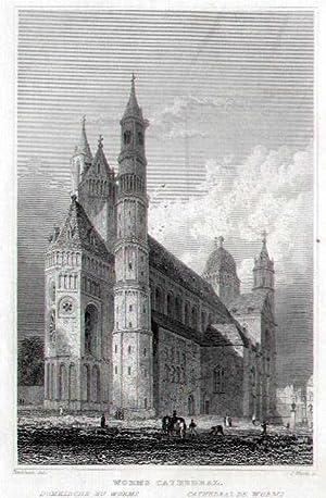 Domkirche zu Worms.: WORMS: