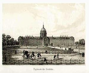 Esplanade des Invalides.: FRANKREICH: Paris: