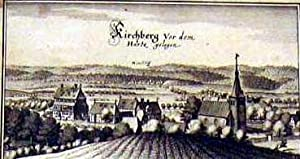 """Gesamtansicht """"Kirchberg vor dem Hartz gelegen"""".: KIRCHBERG:"""