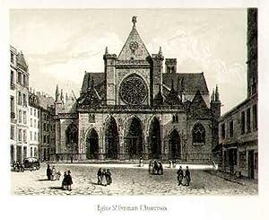 Eglise St. Germain l'Auxerrois.: FRANKREICH: Paris: