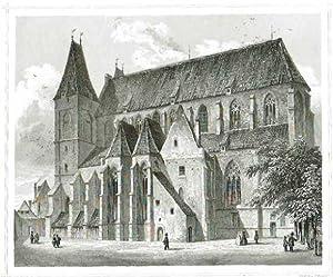 Die Nicolaikirche in Brieg.: OSTEUROPA: Polen: