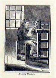 Stocking Weaver.: STRUMPFWIRKER: