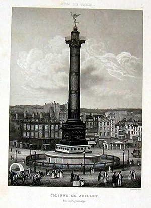Colonne de Juillet.: FRANKREICH: Paris: