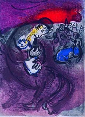 Klagelied von Jeremias.: CHAGALL, Marc (1887 - 1985),