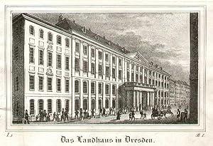 Das Landhaus in Dresden.: DRESDEN: