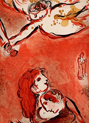 Das Gesicht Israels.: CHAGALL, Marc (1887 - 1985),