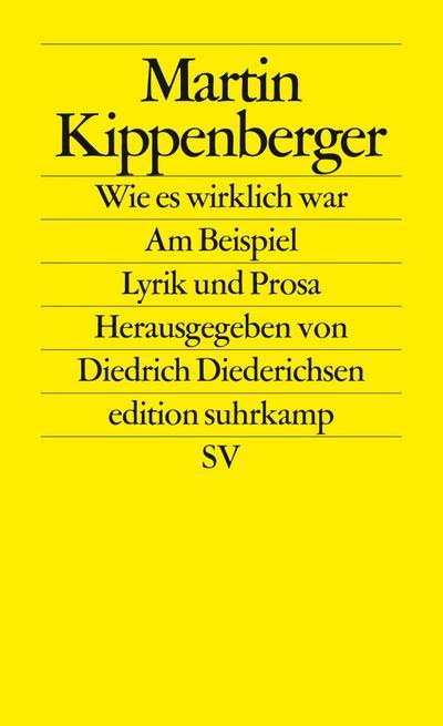 Wie es wirklich war - Am Beispiel: Martin Kippenberger