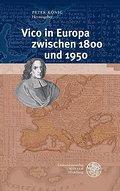 Vico in Europa zwischen 1800 und 1950: Peter König