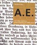 A.E. : Die frühen Feuilletons Arthur Eloessers von 1900-1913 - Tina Krell