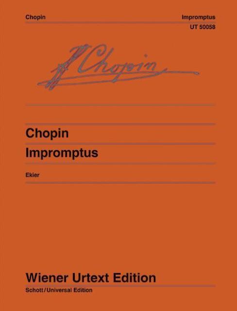 Impromptus : Nach den Autografen, Abschriften und Originalausgaben. Klavier. - Jan Ekier