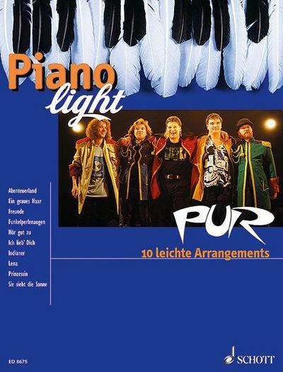 PUR : 10 leichte Arrangements. Klavier.: Pur