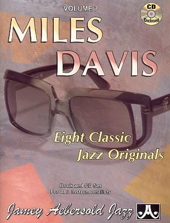 Miles Davis (+CD) : 8 classicJazz Originals: Miles Davis