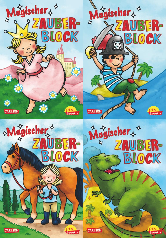 Pixi kreativ Serie Nr. 3: Magische Zauberblöcke: Igor Dolinger