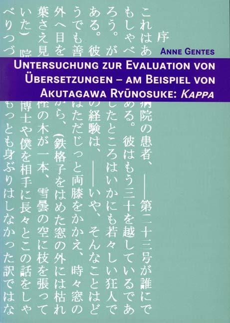 Untersuchung zur Evaluation von Übersetzungen - Am: Anne Gentes