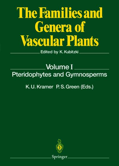 Pteridophytes and Gymnosperms: K. U. Kramer