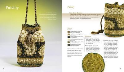 Perlentaschen Häkeln Projekte Techniken Von Ann Benson Creanon