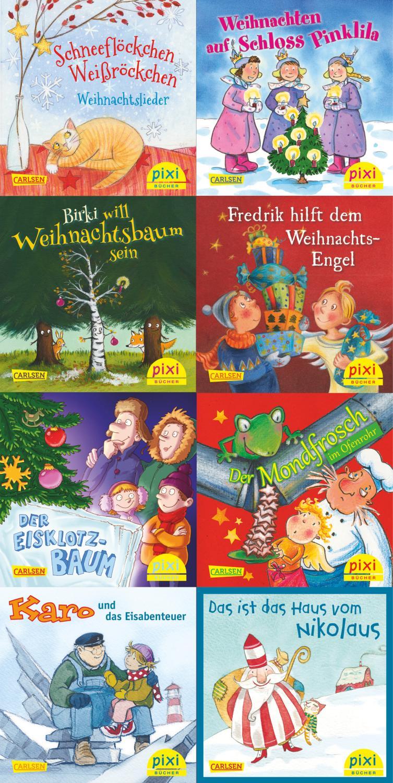 Pixi-Weihnachts-Box 8er Serie: Lasst uns froh und