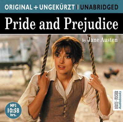 Pride and Prejudice. MP3-CD : Stolz und: Jane Austen