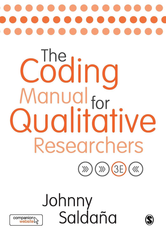 9781473902497: The Coding Manual for Qualitative Researchers - ZVAB -  Johnny Saldana: 1473902495