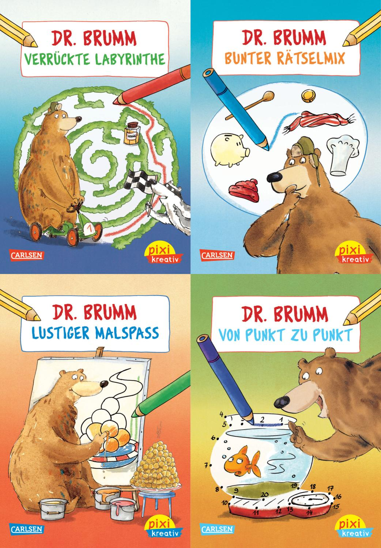Malen und Rätseln mit Dr. Brumm : Imke Sörensen