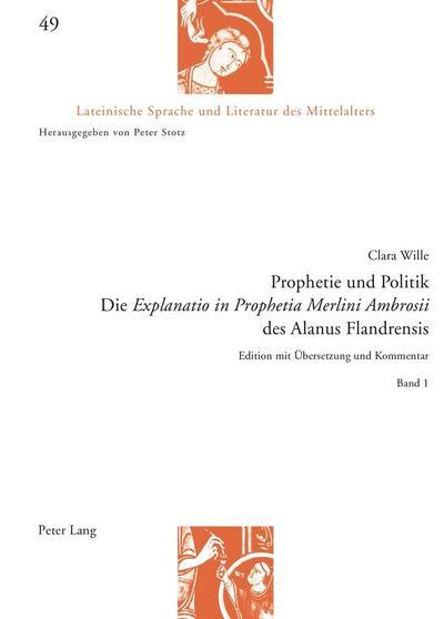 Prophetie und Politik: Clara Wille