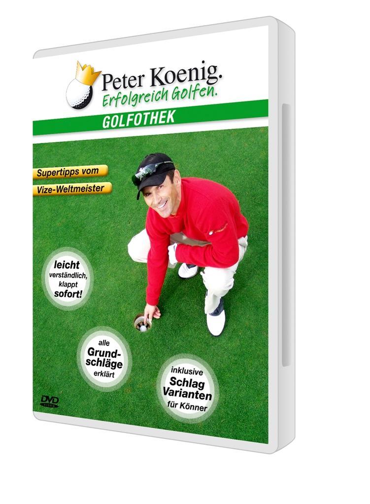Erfolgreich Golfen : Supertipps vom Vize-Weltmeister: Peter Koenig
