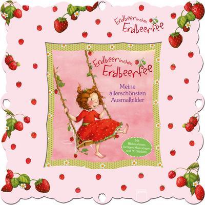 erdbeerinchen erdbeerfee allerschönsten ausmalbilder von stefanie ...