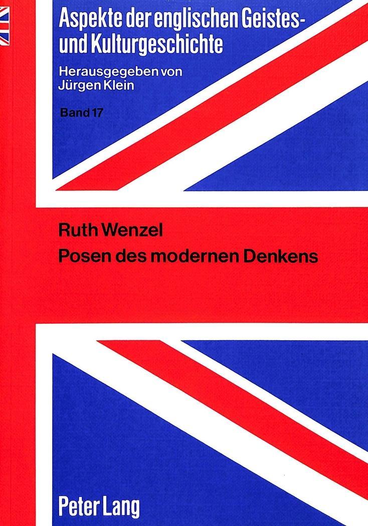 Posen des modernen Denkens : Die Yale: Ruth Wenzel