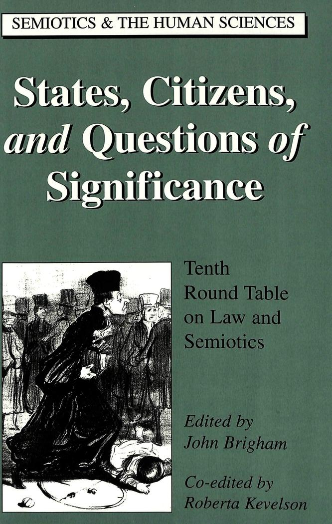 States, Citizens, and Questions of Significance : John Brigham