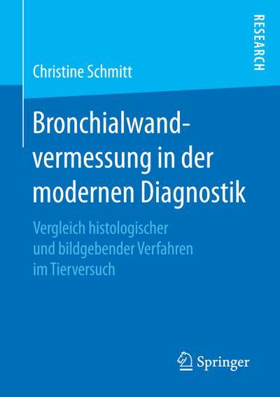 Bronchialwandvermessung in der modernen Diagnostik : Vergleich: Christine Schmitt