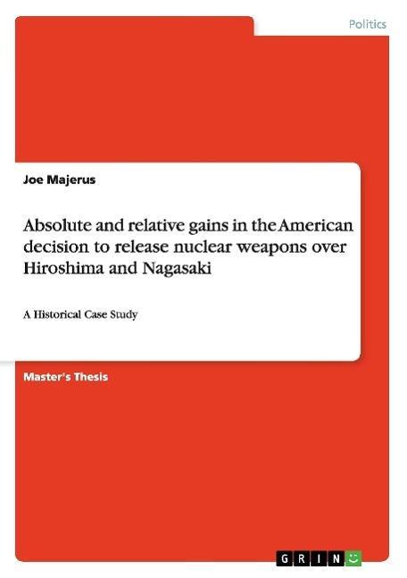 Absolute and relative gains in the American: Joe Majerus