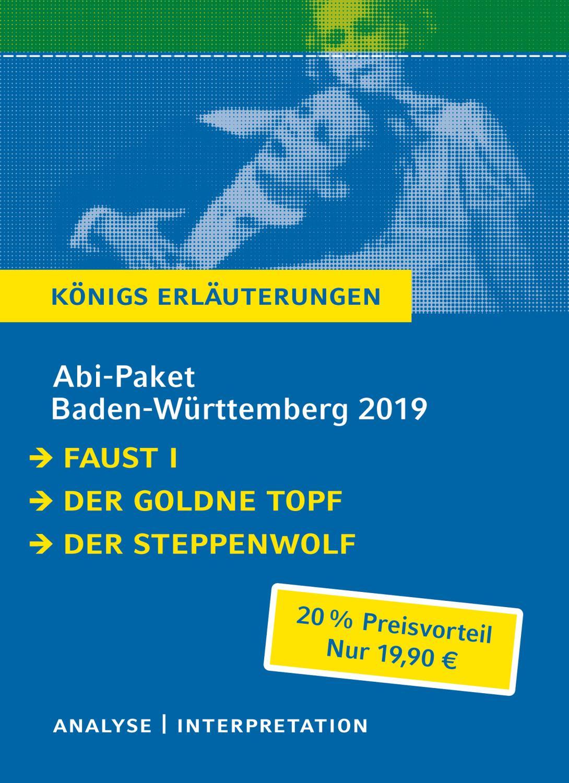 Abitur Baden-Württemberg 2019 /2020 - Königs Erläuterungen: Johann Wolfgang von