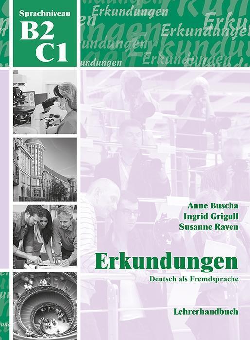erkundungen deutsch als fremdsprache b2 c1 lehrerhandbuch von susanne raven schubert verlag e. Black Bedroom Furniture Sets. Home Design Ideas