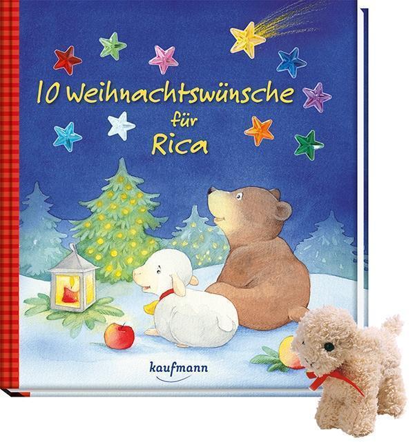 10 Weihnachtswünsche für Rica mit Stoffschaf: Katharina Wilhelm