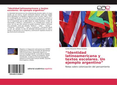Identidad latinoamericana y textos escolares. Un ejemplo argentino