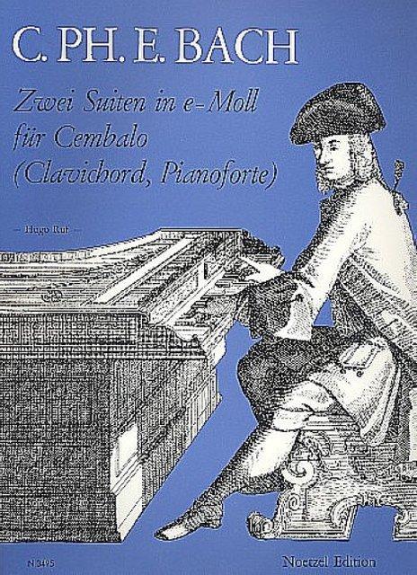 2 Suiten e-Moll Wq62,12 und Wq65,4 :für: Carl Philipp Emanuel