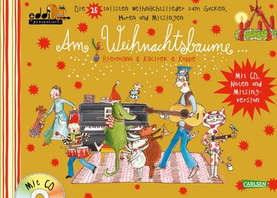 Weihnachtslieder Zum Mitsingen.Am Weihnachtsbaume Gold Eddi Präsentiert